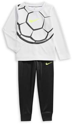 Nike Little Boy's 2-Piece Polythermal Top Pants Set