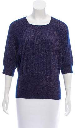 Marc Jacobs Rib Knit Cashmere-Blend Sweater