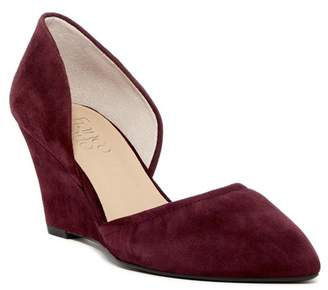 Franco Sarto Fenway Wedge Pump - Wide Width Available $99 thestylecure.com
