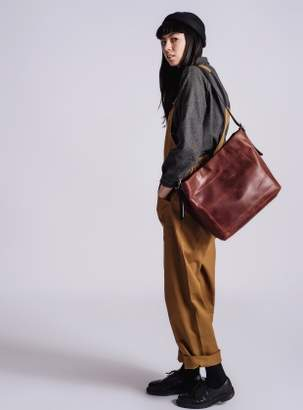 Kate Sheridan ORB Tote in Vintage Whiskey Leather - last one