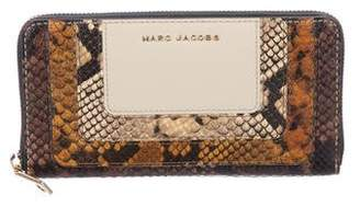 Marc Jacobs Embossed Leather Continental Wallet w/ Tags