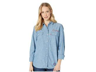 Levi's Womens Chicago Cubs Chambray Shirt