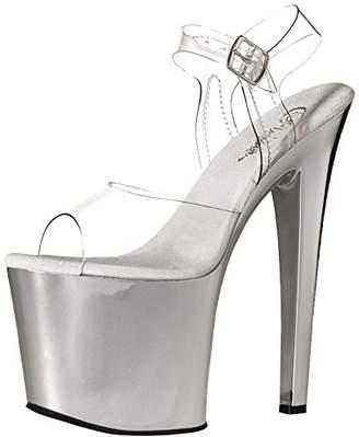 Pleaser USA Women's Tab708/C/Sch Platform Dress Sandal