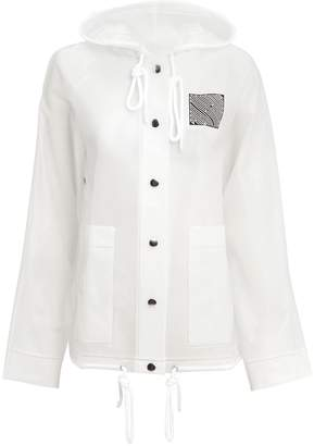 Proenza Schouler Pswl Care Label Clear Raincoat