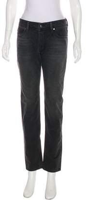 Diesel Mid-Rise Straight-Leg Jeans w/ Tags