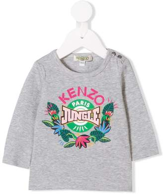 Kenzo jungle print top
