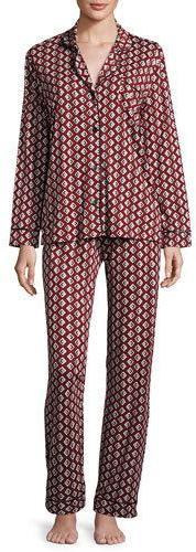 CosabellaCosabella Bella Dot-Print Long-Sleeve Pajama Set