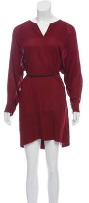 Isabel Marant Belted Mini Dress