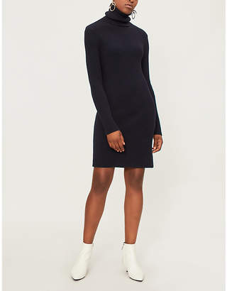 A_PLAN_APPLICATION Turtleneck wool dress