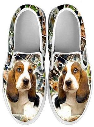 Breed Shoetup Women's Slip ONS-Lovely Dog Print Amazing Slip ONS Shoes (Choose Your Pet 10, )