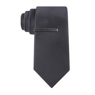 Jf J.Ferrar JF  Faille Solid Slim Tie