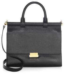 WANT Les Essentiels Maxi Valencia Leather Satchel Bag