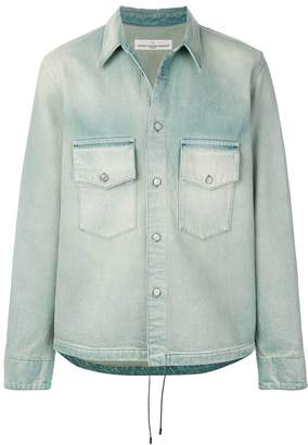 Golden Goose stonewashed denim shirt