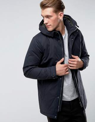 ONLY & SONS Padded Parka With Wire Frame Hood