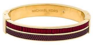 MICHAEL Michael Kors Color Crush Hinged Bangle