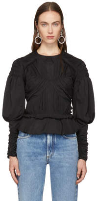 Isabel Marant Black Ullo Blouse