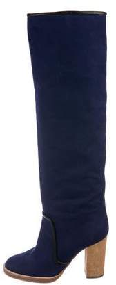Isabel Marant Round-Toe Knee-High Boots