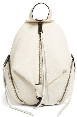 Rebecca Minkoff 'Medium Julian' Backpack - White $245 thestylecure.com
