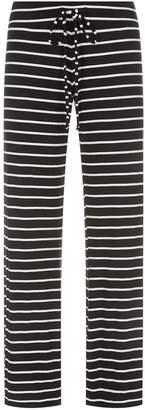 Eberjey Lounge Striped Wide Leg Pyjama Bottoms
