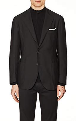 Xo Barneys Colombo Men's Cashmere Two-Button Sportcoat - Black