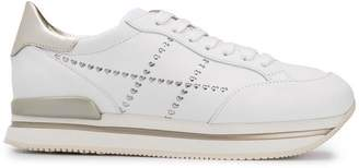 Hogan embellished platform sneakers