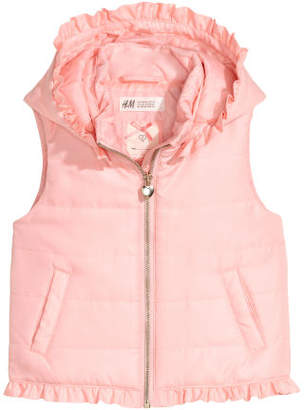 H&M Padded gilet - Pink