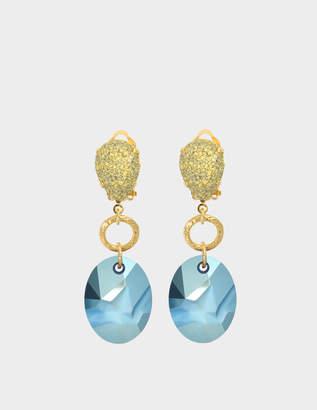 Aris Geldis Terracota earrings