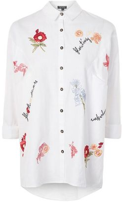 Topshop Floating flower neppy shirt $60 thestylecure.com