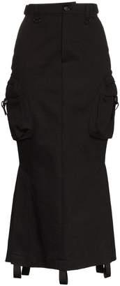 Hyein Seo side pocket cotton cargo skirt