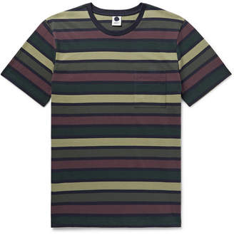 NN07 Barry Slim-Fit Striped Cotton-Jersey T-Shirt