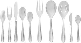 Nambe Paige 45-Piece Flatware Set