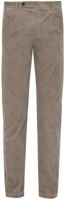 Massimo Alba Watercolour Corduroy Trousers - Mens - Grey