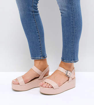 Asos Design TOUCAN Wide Fit Wedge Sandals