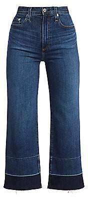 AG Jeans Women's Etta High-Rise Wide-Leg Release-Hem Jeans