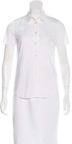 Kate SpadeKate Spade New York Short Sleeve Button-Up Top