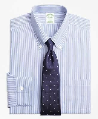 Brooks Brothers Milano Slim-Fit Dress Shirt, Non-Iron Candy Stripe