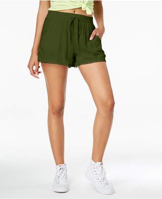 Be Bop Juniors' Pom-Pom-Trim Shorts