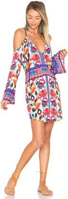 Nanette Lepore Antigua Peasant Tunic $148 thestylecure.com