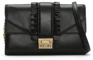 Michael Kors Sloan Black Leather Strap Wallet