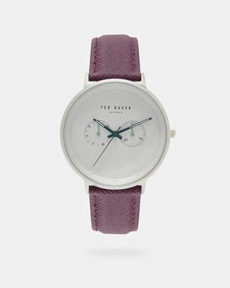 Ted Baker BRADBR Textured strap watch