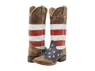 Roper American Flag Square Toe Boot