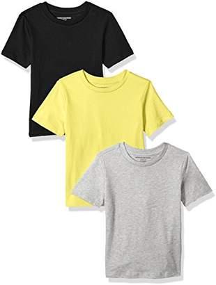 Amazon Essentials Little Boys' 3-Pack Short Sleeve Tee