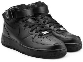 Nike Force 1 Mid 07 Leather Sneakers