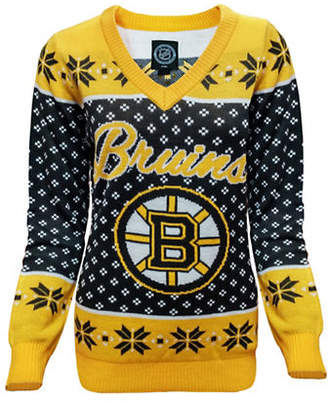 KLEW Boston Bruins V-Neck Ugly Sweater