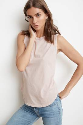 Velvet by Graham & Spencer LILIANA VINTAGE WHISPER TANK TOP