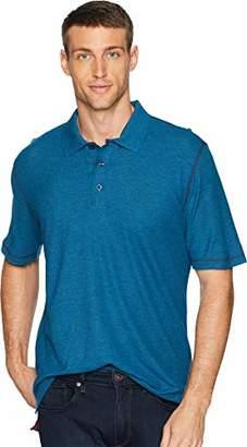 Robert Graham Men's Messenger Short Sleeve Cotton Modal Polo