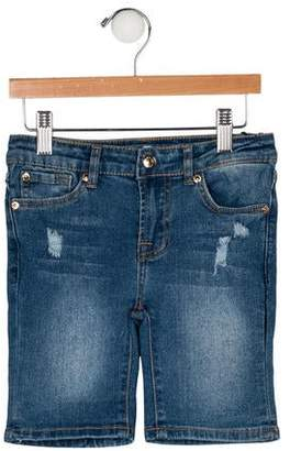 7 For All Mankind Girls' Distressed Shorts w/ Tags
