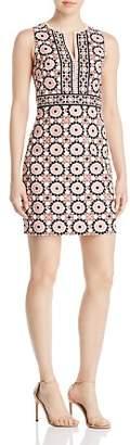 Kate Spade Floral Mosaic Jacquard Dress