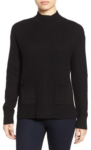 Halogen ® Pocket Sweater (Regular & Petite)