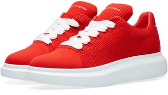Alexander McQueen Wedge Sole Knit Sneaker